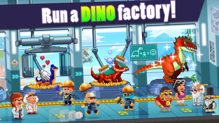 Dino Factory screenshot-1
