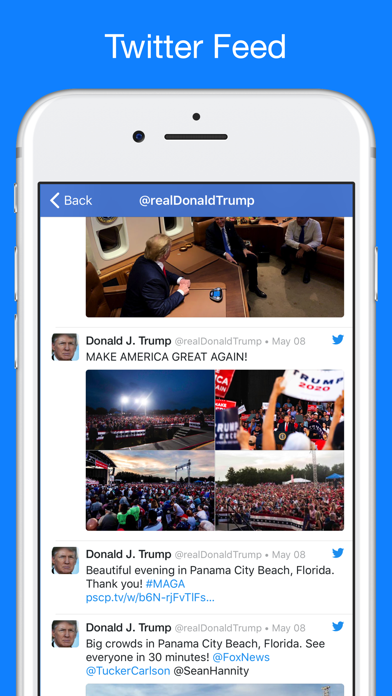 Screenshot for Trump Tracker: News & Politics in United States App Store