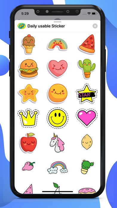 Daily Usable Stickers screenshot 1