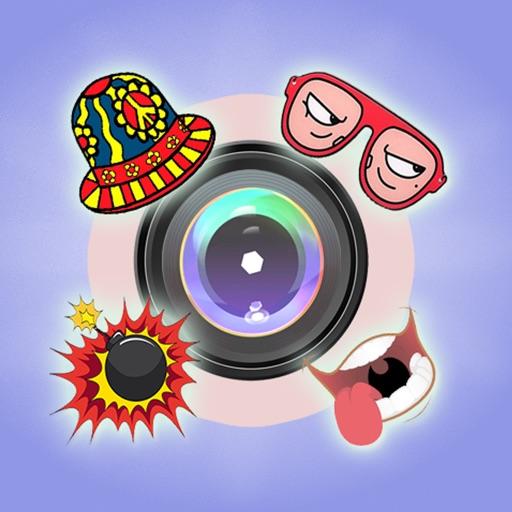 Funny Stickers Camera + Editor