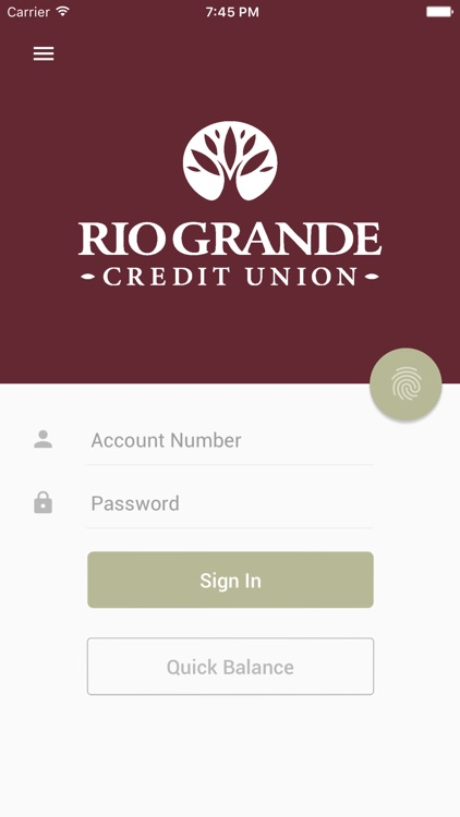 Rio Grande CU Mobile screenshot-0