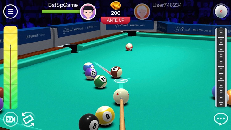 Pool8 3D Multiplayer & Tricks