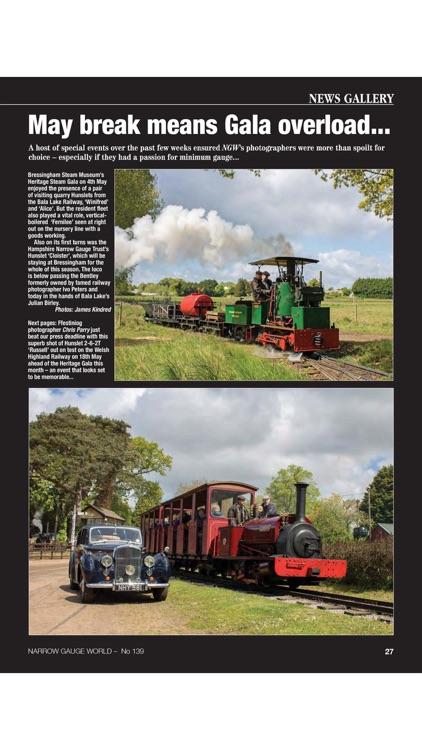 Narrow Gauge World Magazine screenshot-3