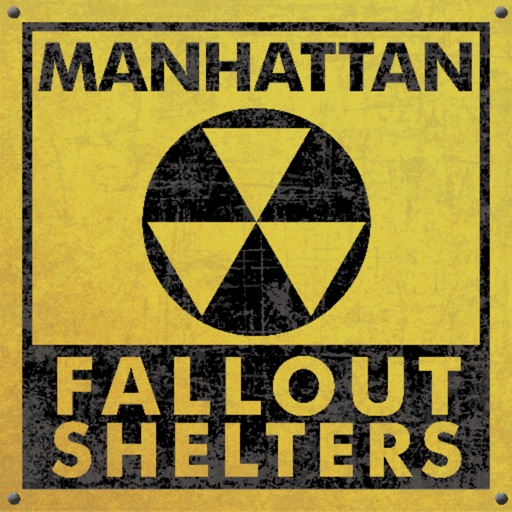Manhattan Fallout Shelters Map