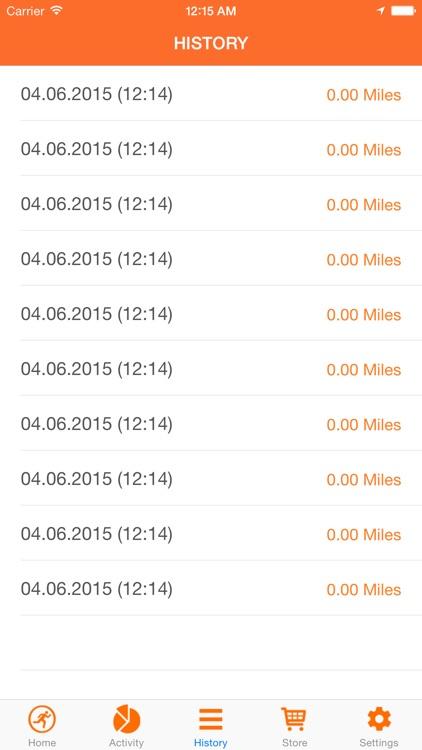 Running tracker & step tracker screenshot-3