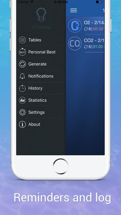 STAmina Apnea Trainer screenshot-4