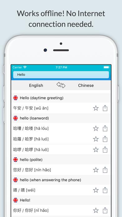 English Chinese Dictionary + screenshot 1