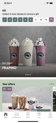 Espresso House App Screenshot