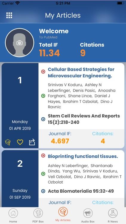PubMed Hub screenshot-6