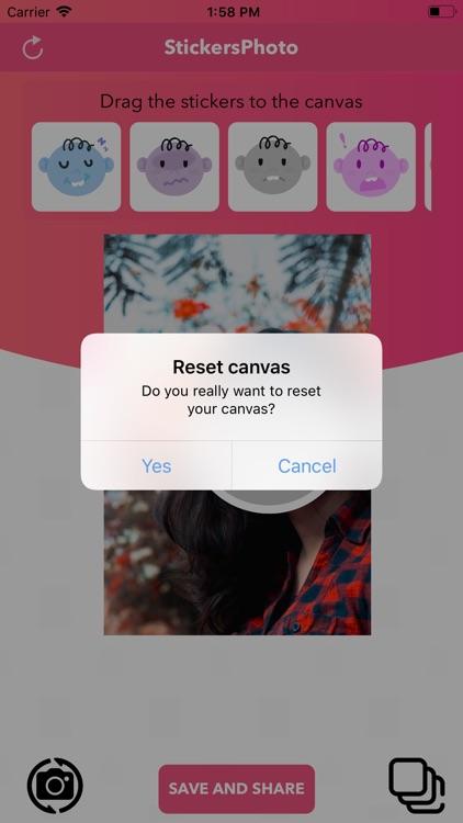 Funny Photo Sticker screenshot-3