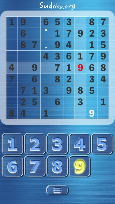 Sudoku.org screenshot 2