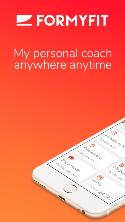 Formyfit: your personal coach screenshot-0