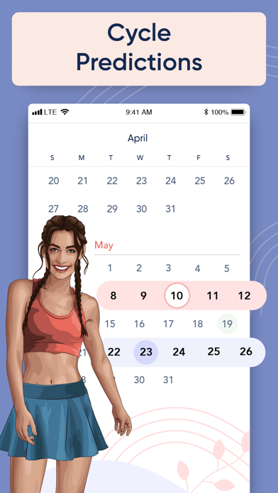 BetterMe: Period Tracker Screenshot