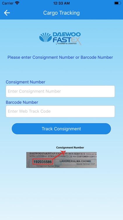 Daewoo Express Mobile screenshot-7