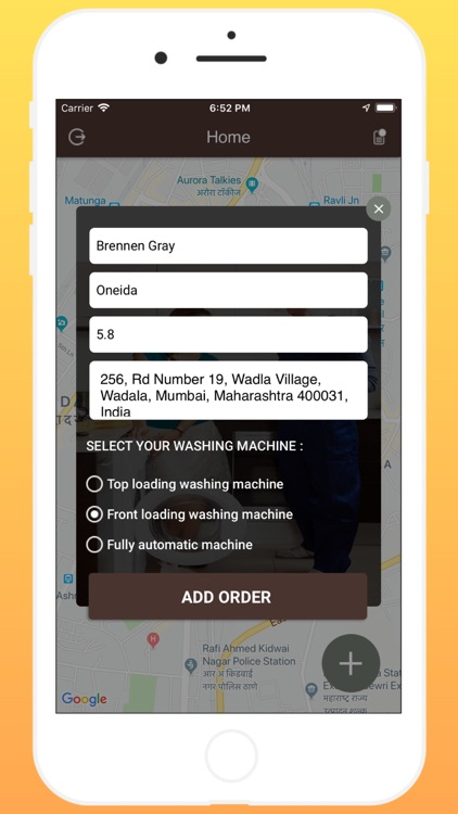 WashingMachine Repair Customer screenshot-5
