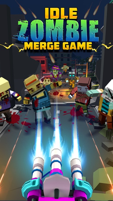 Idle Zombie : Merge Game screenshot 1