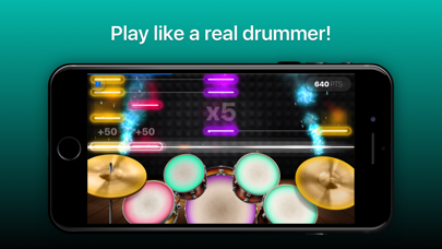 Drums - real drum set games Screenshot