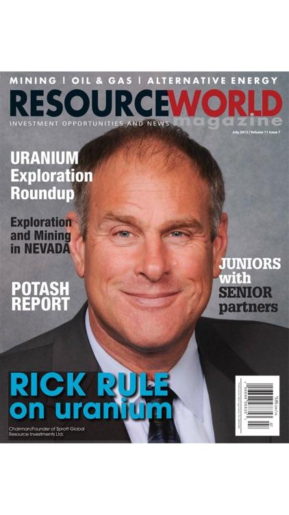 Resource World Magazine screenshot-7