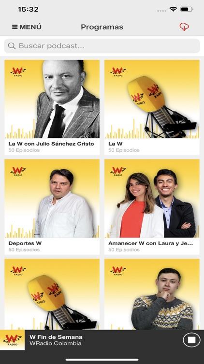 WRadio Colombia para iPhone screenshot-5