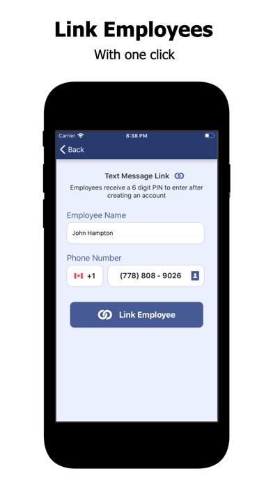 Employee Link Time Tracker screenshot one