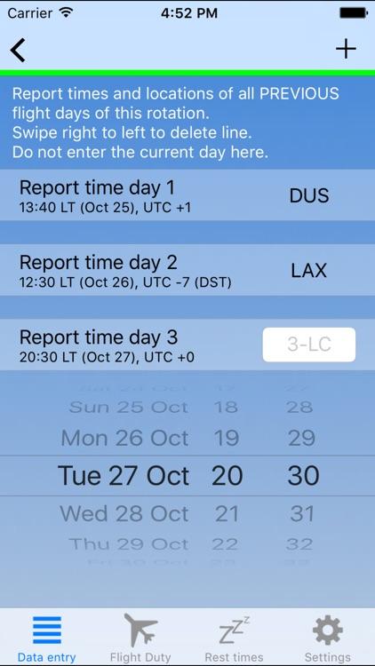 EASA vs Airline FTL screenshot-3