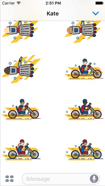 Achilles Marathon Sticker Pack screenshot-3