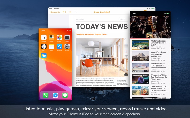 Phone Play (for iPhone & iPad) for Mac