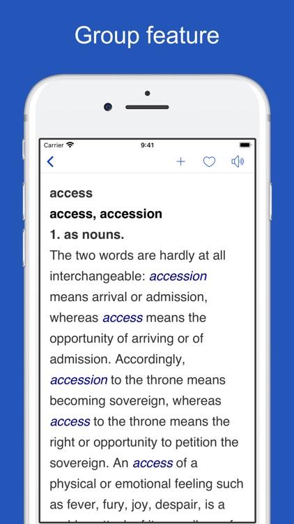 English Usage Dictionary screenshot-4