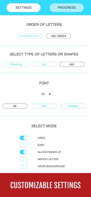 Yum-Yum Letters: Learn & Trace Screenshot