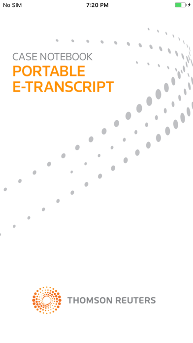 Case Notebook E-Transcript