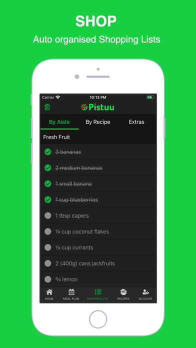 Pistuu: Plant Based Recipes Screenshot