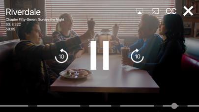 Screenshot of The CW App
