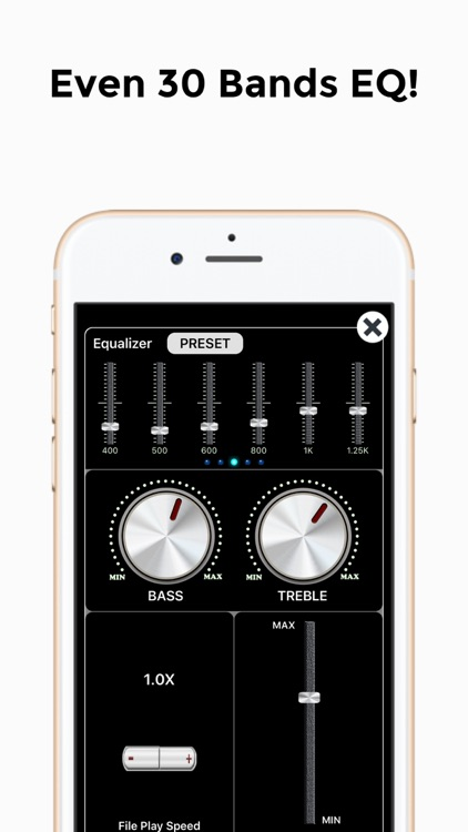 HighAmp - MP3 Music Player screenshot-7