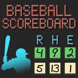 Lazy Guys Baseball Scoreboard