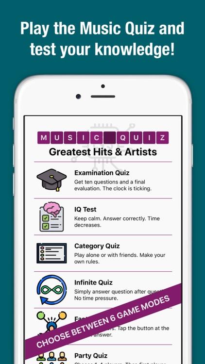 Music Quiz - Songs & Trivia
