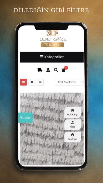Sedef Gökçe Tekstil screenshot 3