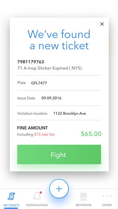 Screenshot for WinIt - Fight Your Tickets in United States App Store