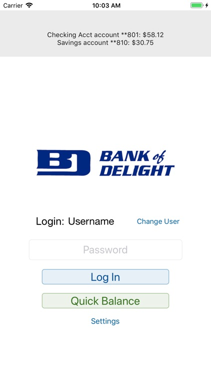 Bank of Delight Mobile Banking screenshot-3