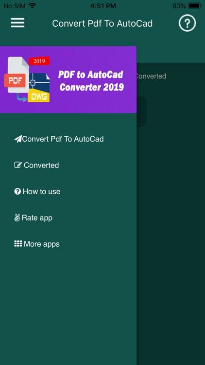 Convert PDF to AutoCad screenshot-3