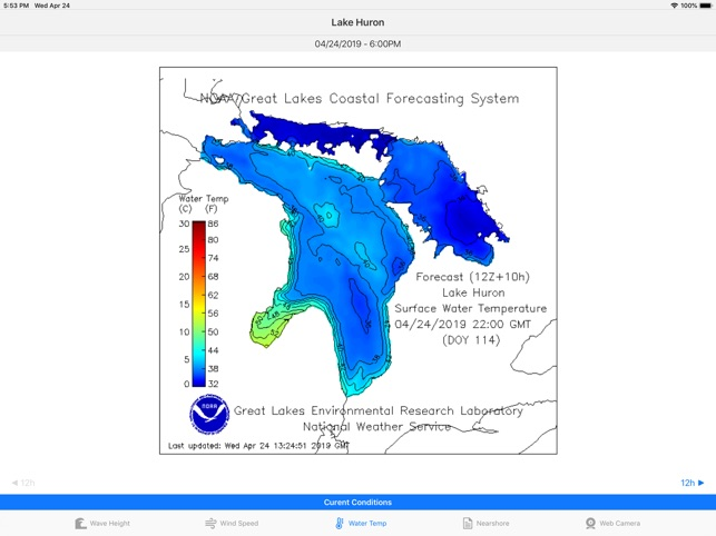 Great Lakes - Forecast