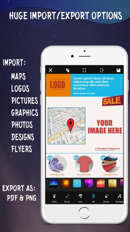 Create Flyers & Logos - Maker screenshot-4