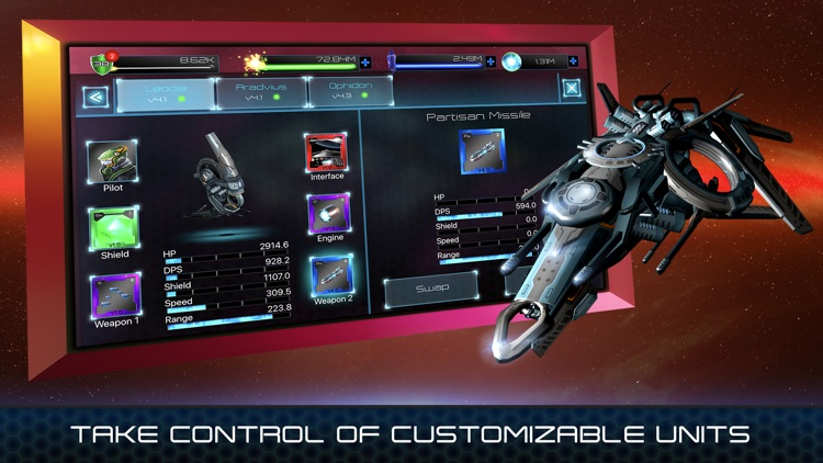 Fleets of Heroes screenshot-1
