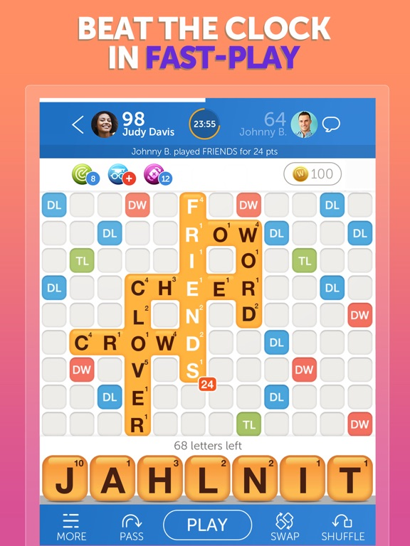 Words With Friends Word Game By Zynga Inc Ios United Kingdom Searchman App Data Information