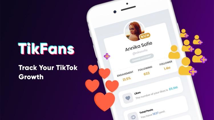 TikFans: Tracker, Stats