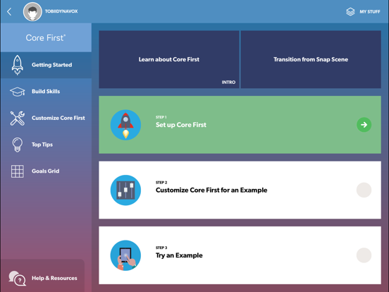 Pathways for Core First screenshot one