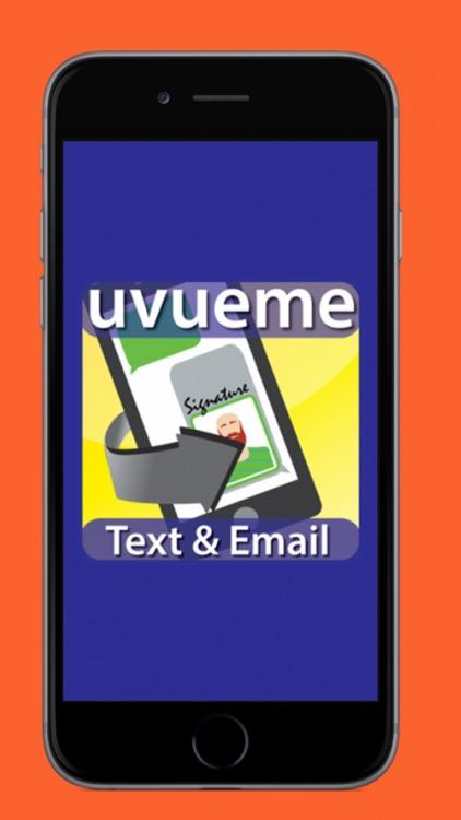 UVUEME Customized Email & Text screenshot-0