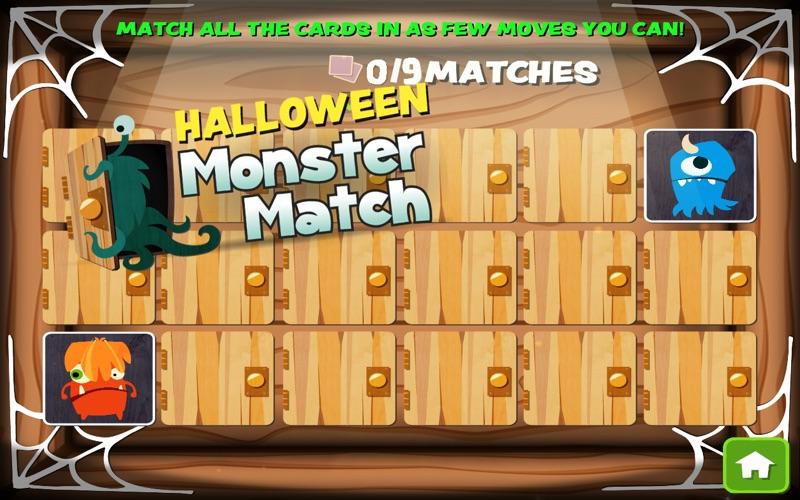 Halloween Monster Match screenshot 4