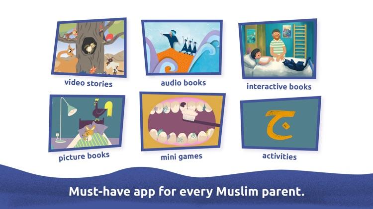 Miraj Islamic Stories for Kids screenshot-0