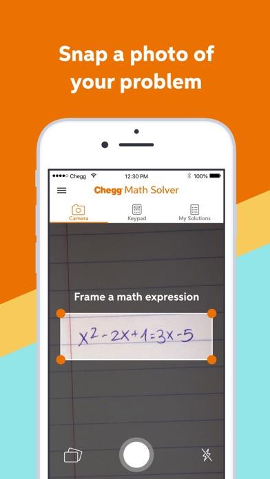 Chegg Math Solver - math help Screenshot
