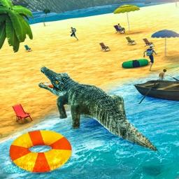 Big Crocodile Attack Simulator